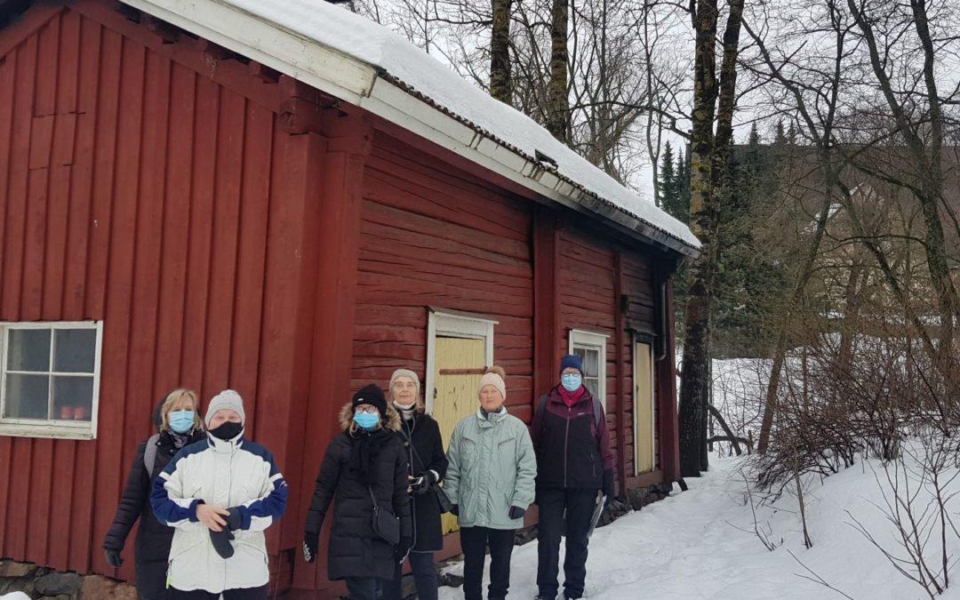EMN kaupunkikävelykierros: Espoon keskusta 21.2.2021