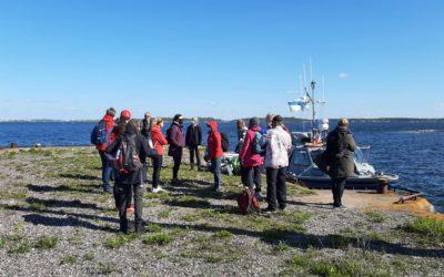 Meripuolustustietoutta naisille, Kuivasaari Helsinki 29.5.2021